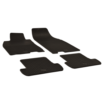 tapis de sol en caoutchouc anthracite pour renault megane iii coupe bj. Black Bedroom Furniture Sets. Home Design Ideas