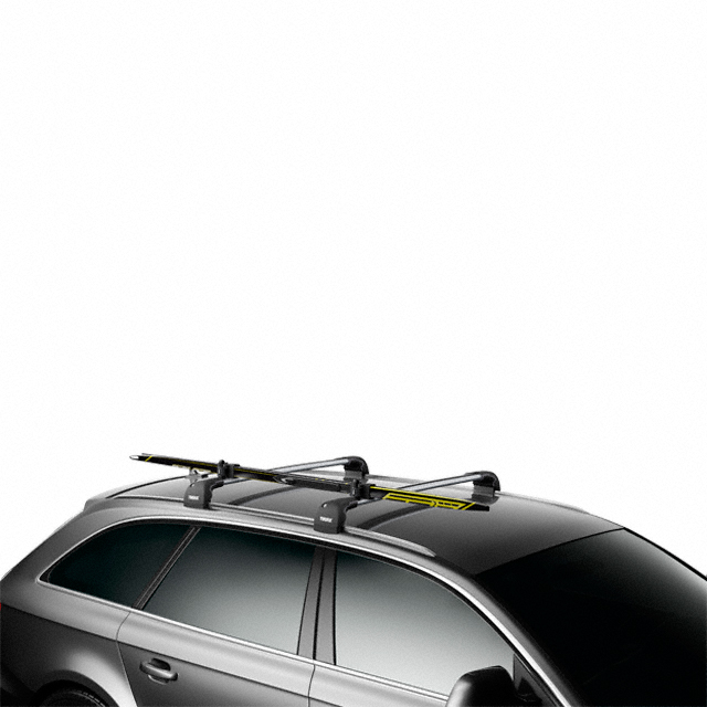 porte skis thule skiclick 7291 convient pour skis de fond aussi pour rails profil s en. Black Bedroom Furniture Sets. Home Design Ideas