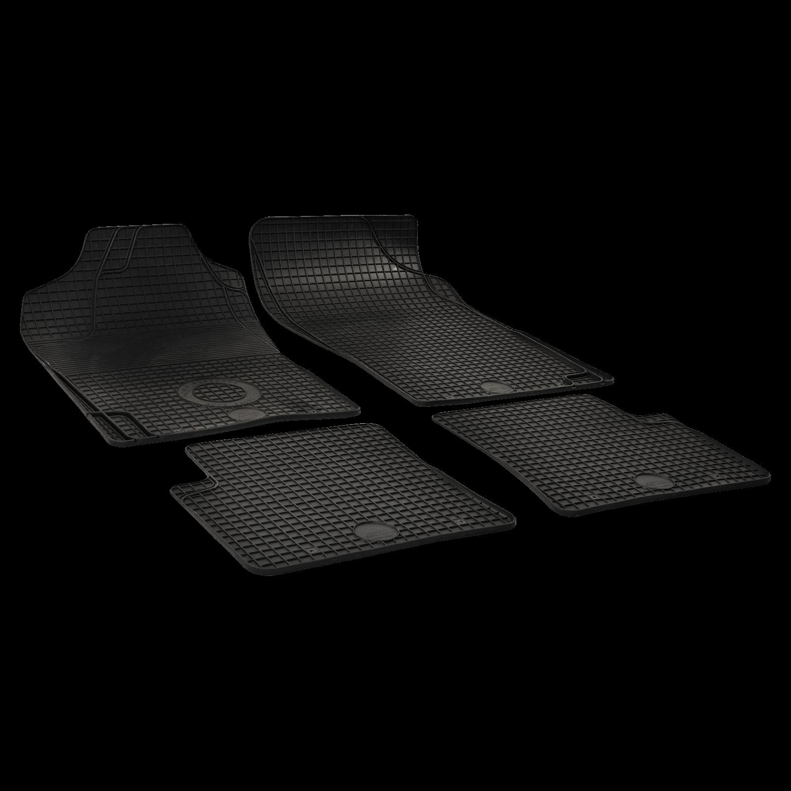 tapis de sol en caoutchouc noir pour citroen xantia break bj. Black Bedroom Furniture Sets. Home Design Ideas