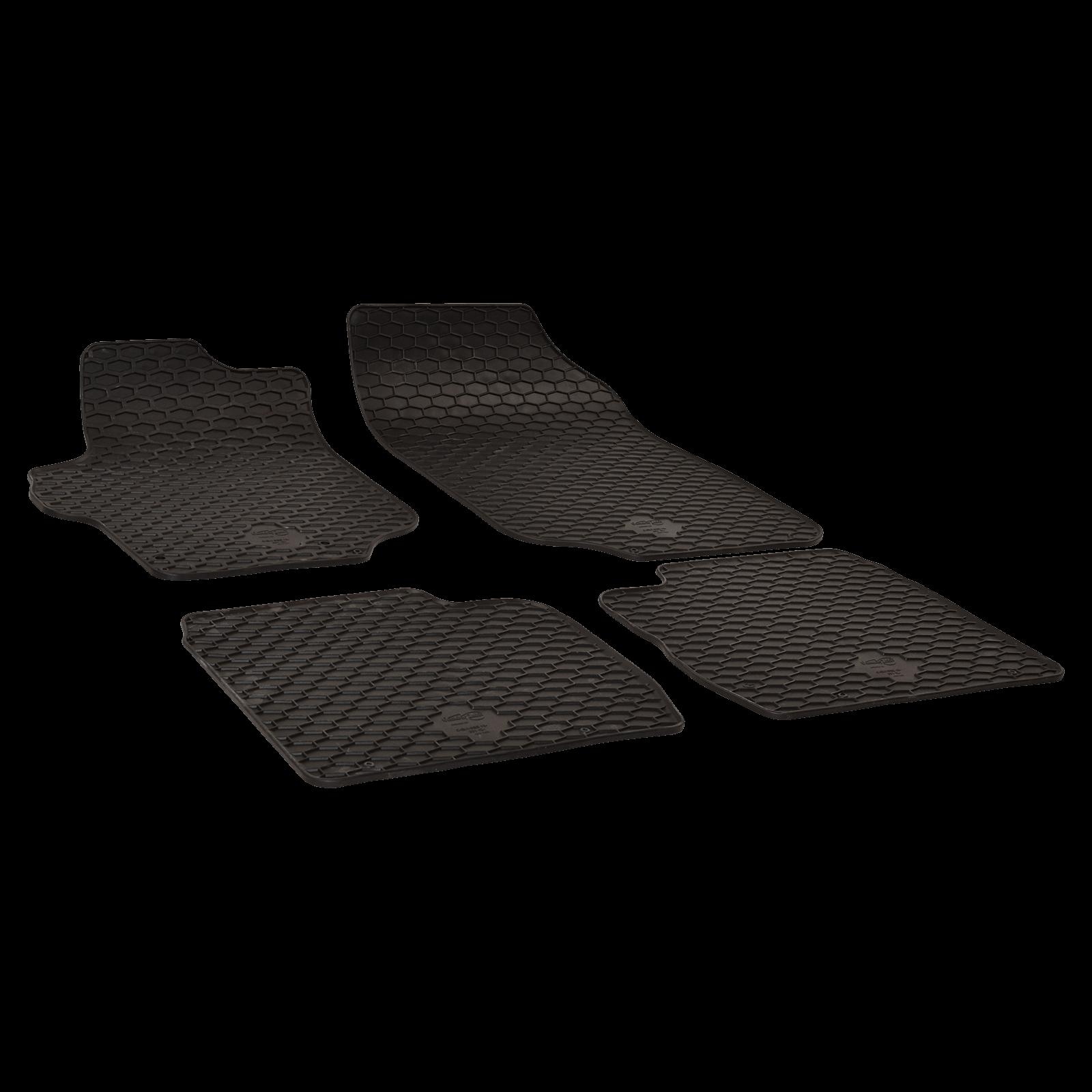 tapis de sol en caoutchouc noir pour citroen c elysee bj. Black Bedroom Furniture Sets. Home Design Ideas