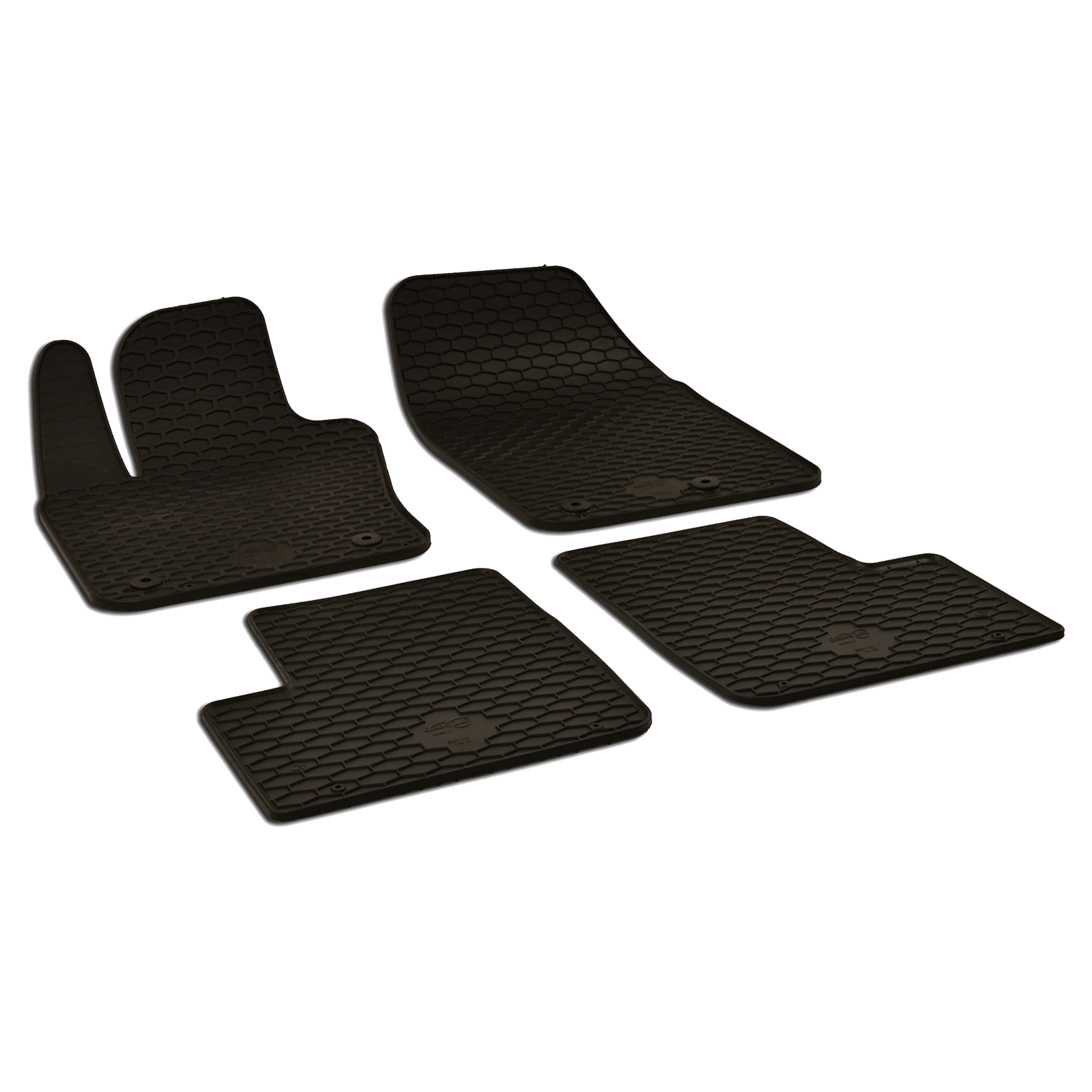 tapis de sol en caoutchouc noir pour fiat 500x bj. Black Bedroom Furniture Sets. Home Design Ideas