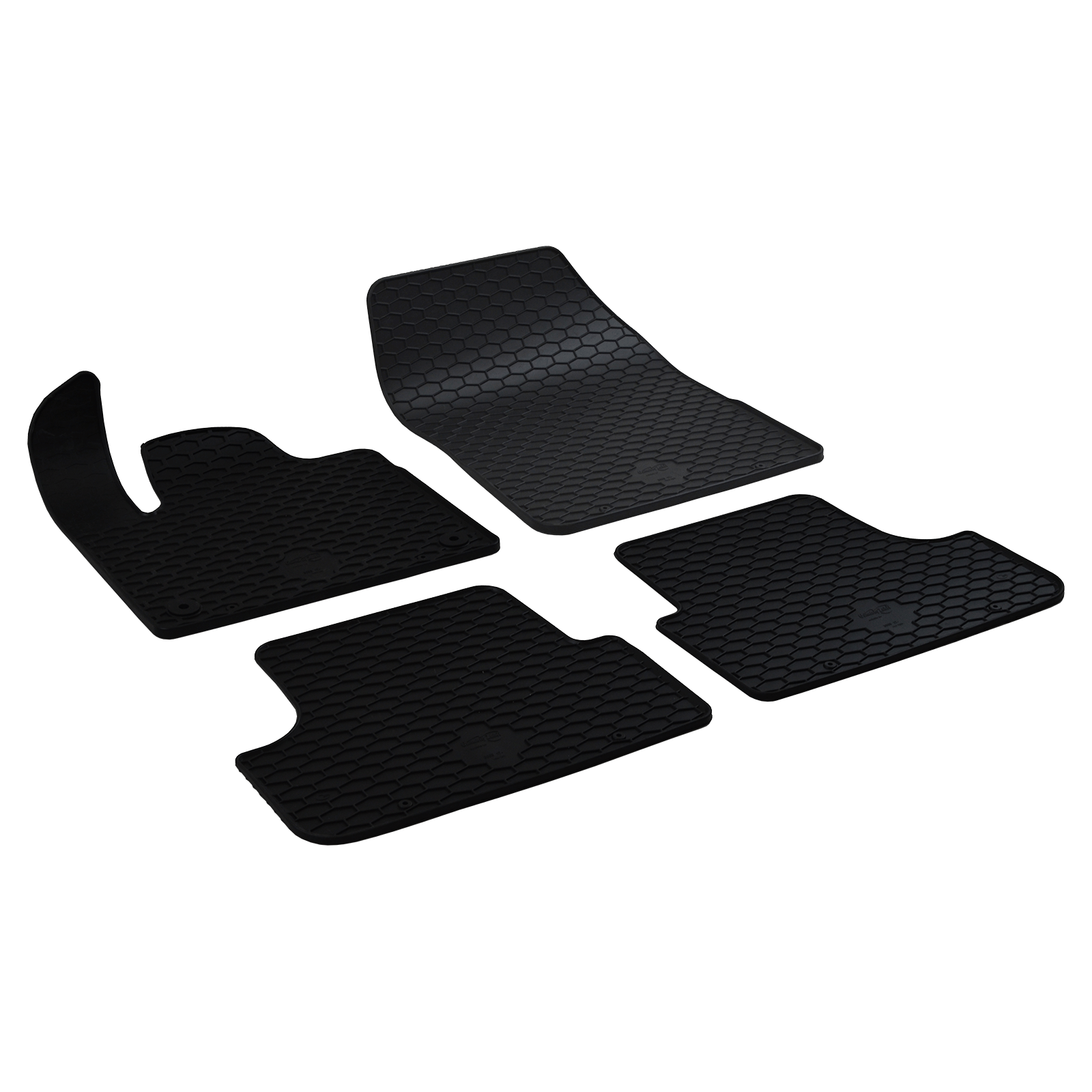 tapis de sol en caoutchouc noir pour peugeot 3008 suv bj. Black Bedroom Furniture Sets. Home Design Ideas