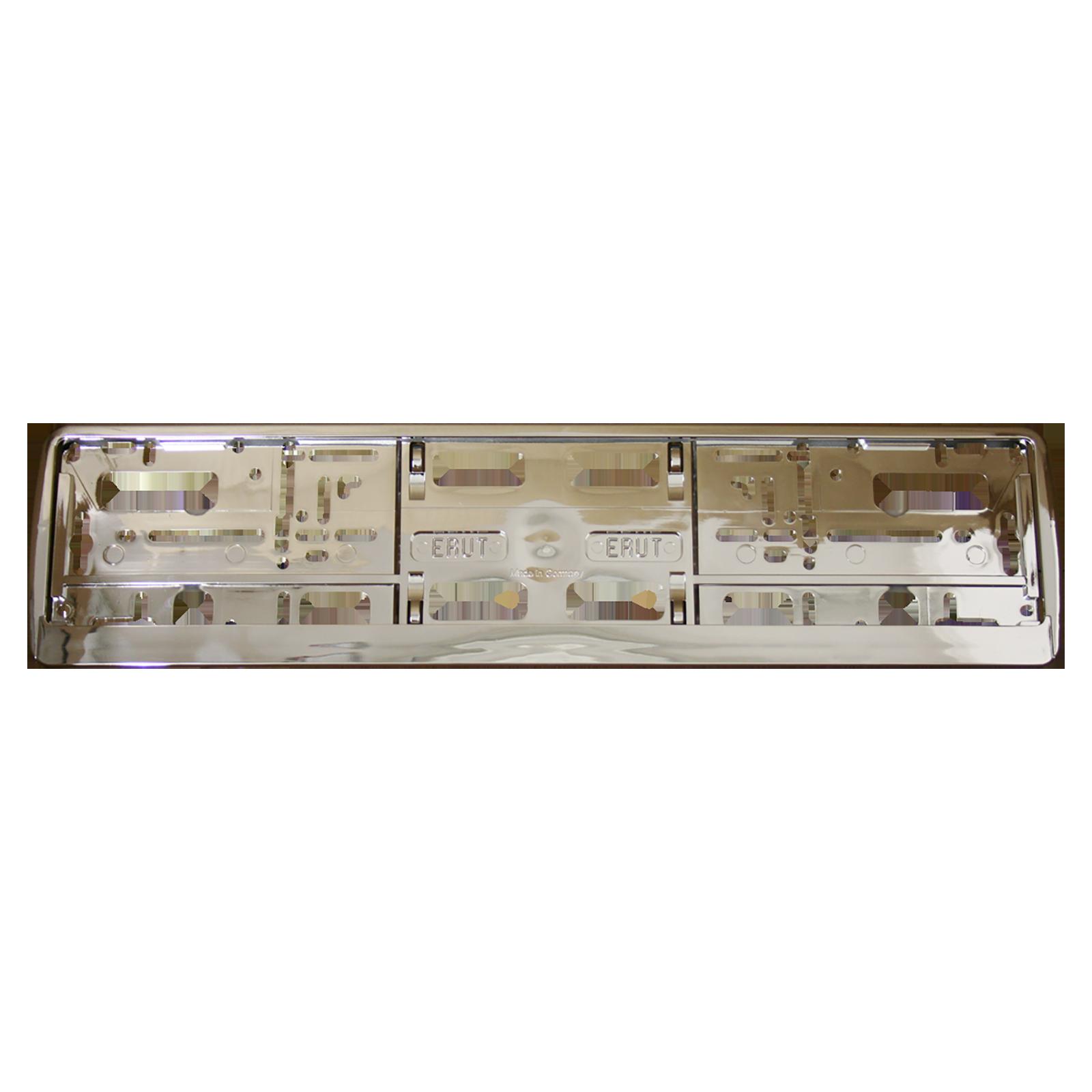cadre plaque d immatriculation cadre chrom 233 avec embase convient pour les plaques d