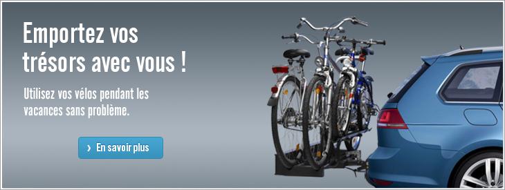 Nos porte-vélos permettent des utilisations multiples!