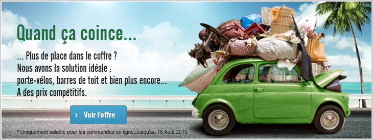 Quand ça coince: vos solutions de transport pour les vacances.