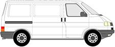 TRANSPORTER IV Camionnette (70A, 70H, 7DA, 7DH)