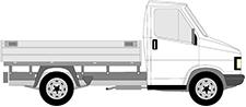 J5 Camion plate-forme/Châssis (290L)