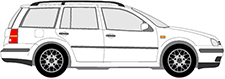GOLF IV Variant (1J5)