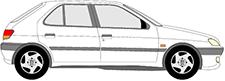 306 3/5 portes (7A, 7C, N3, N5)