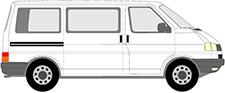TRANSPORTER IV Autobus/Autocar (70B, 70C, 7DB, 7DK, 70J, 70K