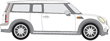 Attelage Mini Mini Clubman R55 Rameder