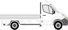 MASTER III Camion plate-forme/Châssis (EV, HV, UV)